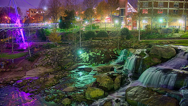 Falls Park on the Reedy in Greenville
