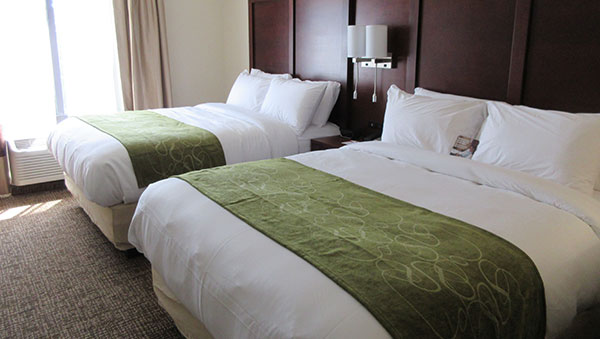 Comfort Suites Greenville South offering Wide Body Queen Suite