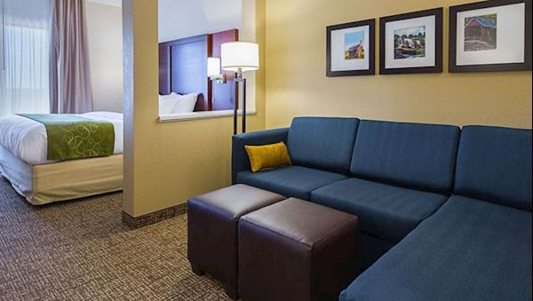 Accessible King Suite at Comfort Suites Greenville South